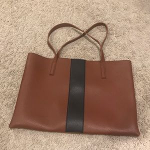 Vince Camuto Luck Tote with black stripe